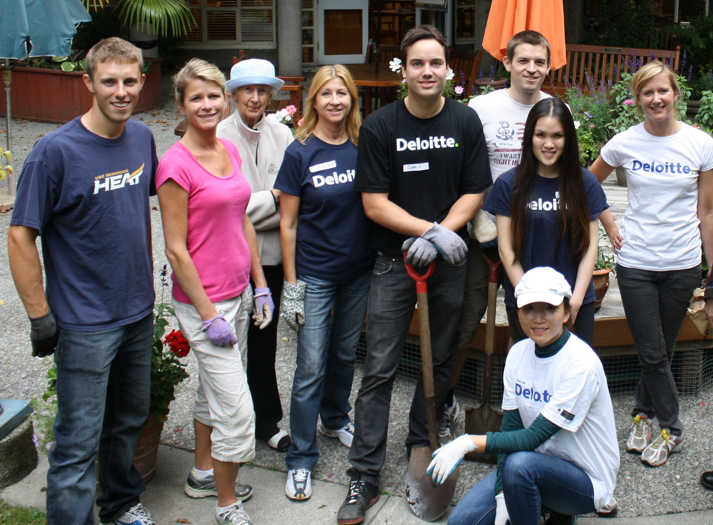 Impact Day – Team Deloittee