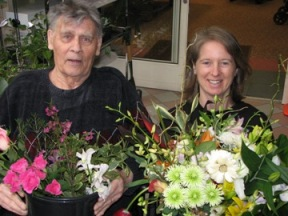 Bounty of Flowers Donated Weekly