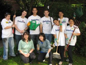 Deloitte and Touche Impact Day Volunteers Return