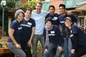 Deloitte Impact Day Volunteers