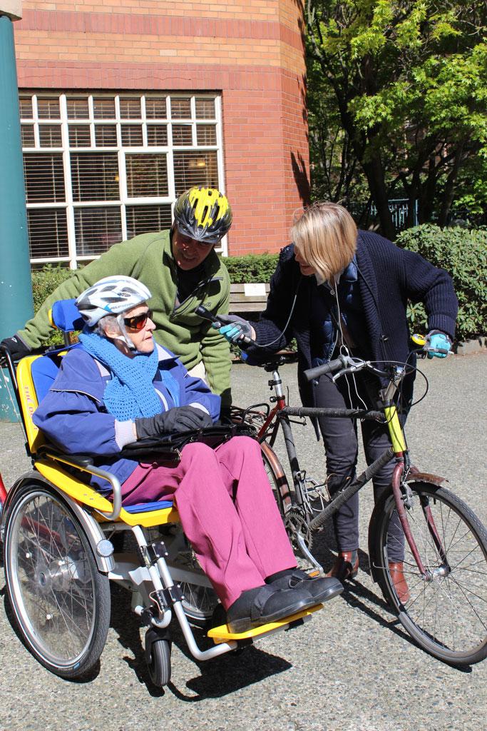 Duet Bike Program highlighted on CBC Radio On the Coast