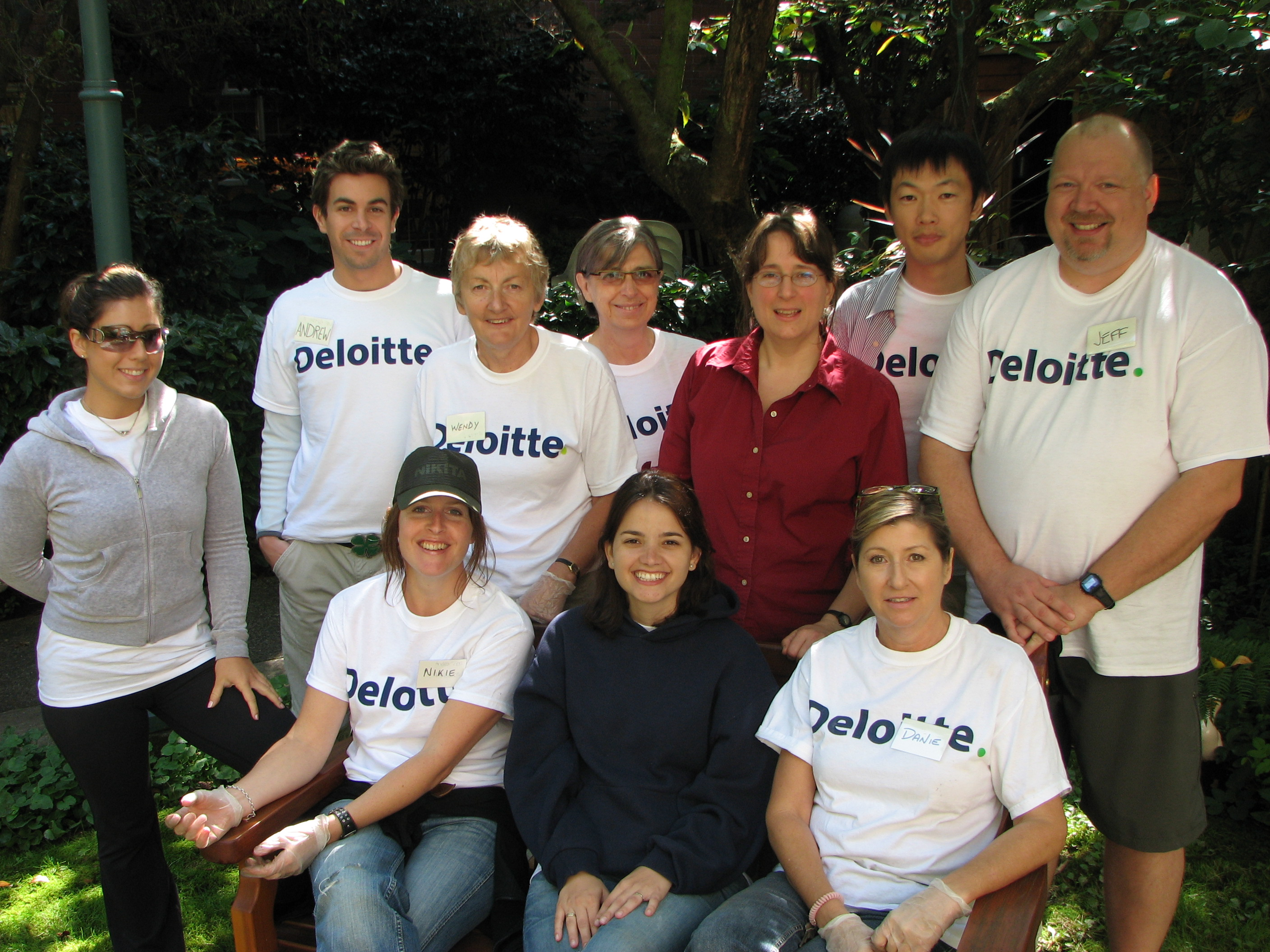 Our thanks to Deloitte and Touche