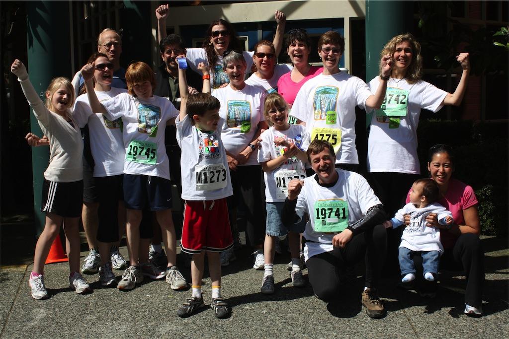 Team Yaletown, Sun Run 2010