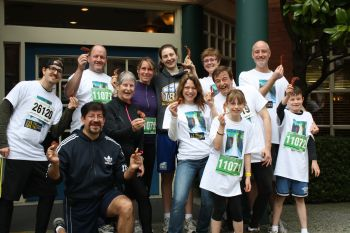 Team Yaletown Sun Run 2012